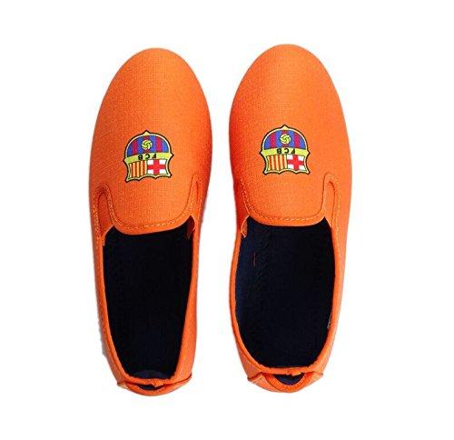 FCB Unisex-Erwachsene Kung-Fu Espadrilles Orange