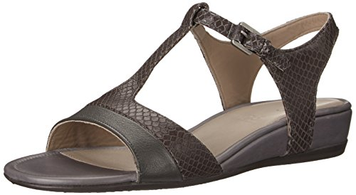 Ecco ECCO TOUCH 25 S, Damen Knöchelriemchen Sandalen, Grau (DARK SHADOW/DARK SHADOW56586), 38 EU (5 Damen UK)