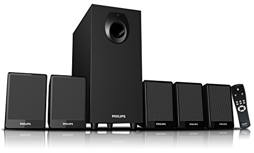 Philips DSP 2800 5.1 Speaker System (without USB Port &...