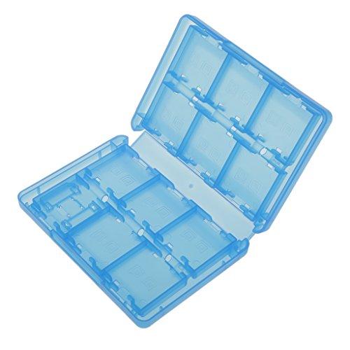 28-in-1 Caja Almacenaje De Tarjeta Juego Plástico Protector Para Nintendo 3DS