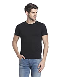 Jack & Jones Mens T-Shirt (5713611159665_12126028_ Small_Black)