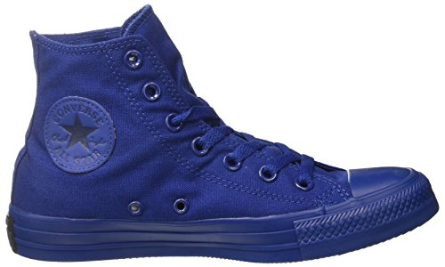 Converse - All Star Hi Monochrome, Sneaker alte Unisex - Adulto Blu