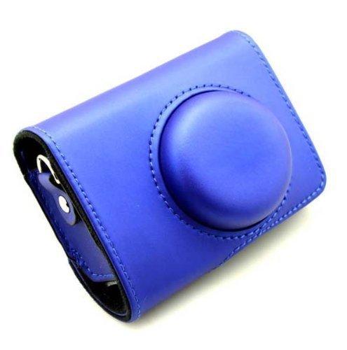 MegaGear Kamera Tasche für Casio Exilim Ex-ZR1000, Ex-ZR700, EX-ZR100, EX-ZR200, EX-ZR300, EX-ZR400, Ex-ZR20, Digitalkamera(Blau)