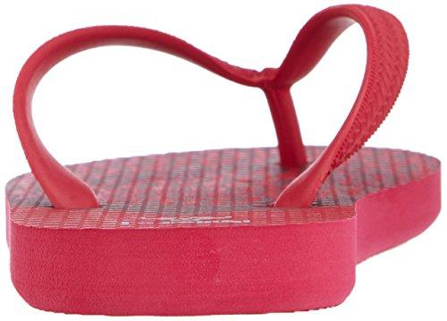 hummel FLIPFLOP JR Mädchen Dusch- & Badeschuhe Pink (Rose Red 4025)