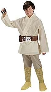 Star Wars Deluxe Halloween Costume Luke Skywalker - Child Size Small