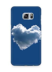 AMEZ Love Back Cover For Samsung Galaxy S6 Edge Plus