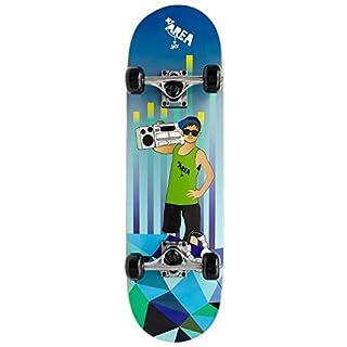 AREA Unisex Jugend Kinder Skateboard Cool Boy Mehrfarbig 28