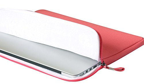 YiJee Universale Laptop Custodia Borse Handbag Accessorio Bag Per PC Portatili 15.4 Pollice Rose