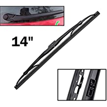 Xukey - Limpiaparabrisas trasero de 14 pulgadas para Q7 A6 S6 RS6 Cayenne Altea Ibiza 6L