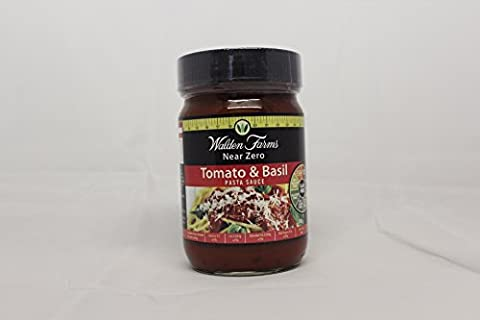 Walden Farms Near Zero Tomato and Basil Pasta Sauce 340g