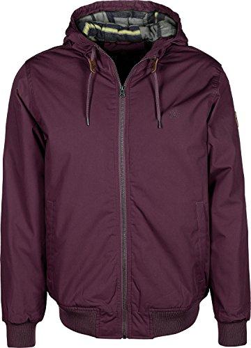 Element Jackets - Element Dulcey Jacket - Napa Red (Napa Kleine Leder)