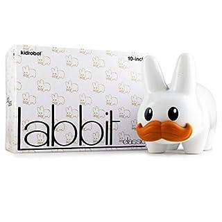 Stache Labbit White 10 Vinyl Figure Kidrobot by Kidrobot