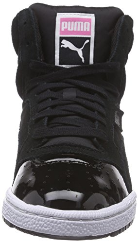 Puma  Sky 3 Lace Matt & Shine Wn's, Sneakers basses femmes Noir (Black/Carmine Rose)