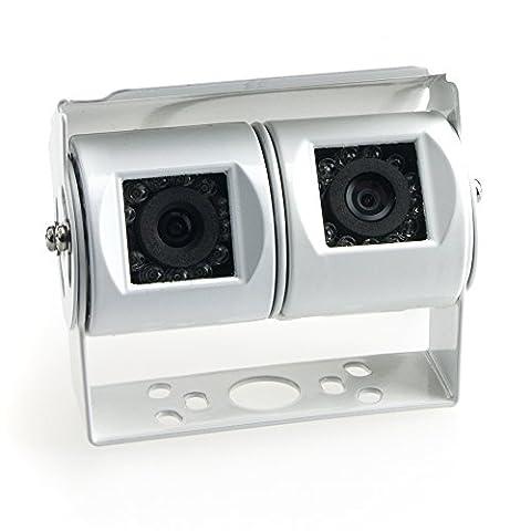 Lits Caméras de recul (NTSC) pour camionnettes/ camions en exemple blanc pour VW T5, VW (Tetto Apribile Cavo)