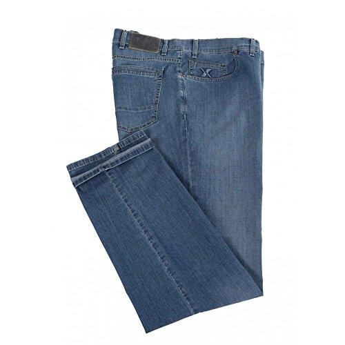 Jeans Maxfort SBL chiaro taglie forti uomo - Blu scuro, 66 GIROVITA 132 CM