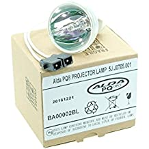 Alda PQ Premium, lámpara para proyector/bombilla de repuesto 5J.J0705.001 para BENQ HP3325, MP670, W600, W600 + projektorenen, de Mera Pera, sin caja