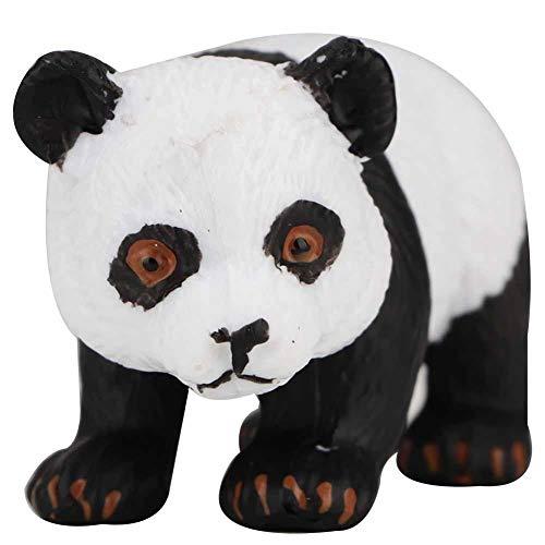 Panda Spielzeug Puppe Panda Puppe gefüllt Plüsch Puppe Spielzeug süße Simulation Panda Kunststoff Mini Dekoration Geschenk für Jungen Mädchen Freundin Geschenk(Kriechender Panda)