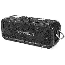 Haut-Parleur Bluetooth Enceinte sans Fil 40W, Tronsmart Force Speaker Waterproof Portable, étanche IPX7, Autonomie 15H, Technologie NFC & TWS,Compatibilité Android, Smartphone,Ordinateur