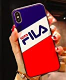 TN Cases Store Coque iPhone 7+ Plus et iPhone 8+ Plus FILA Bleu Blanc Rouge...