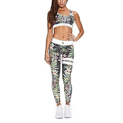 Legging Yoga - Pantalon de gymnastique féminin Combinaison - Exercice