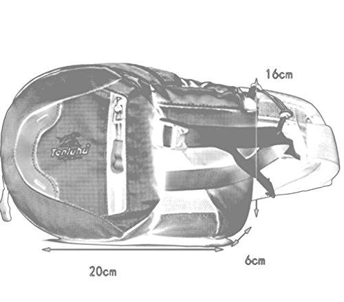 SMARTSTAR Multifunktionale Tasche Laufen Wandern Camping Radfahren Reisen wasserdicht Hüfttasche mit Flaschenhalter 04 Violett