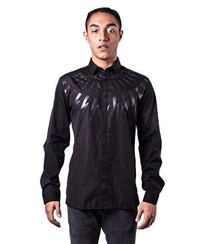 Neil Barrett -  Camicia Casual  - Uomo nero Large