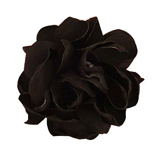 Gemini _ Mall Chic Frauen Haar Band Seil Elastic Blume Pferdeschwanz Halterung Haargummi Zubehör