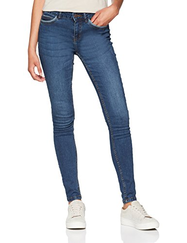fa3c8a650d058f Noisy May Nmlucy Nw Pckt Piping Jeans Vi877db Noos, Slim Donna, Blu Dark  Blue