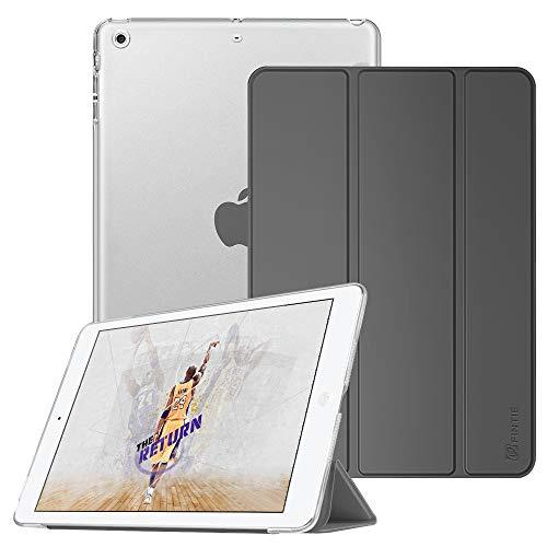 lle - Ultradünne Superleicht Schutzhülle mit transparenter Rückseite Abdeckung Cover mit Auto Schlaf/Wach Funktion für Apple iPad Mini/iPad Mini 2 / iPad Mini 3, Himmelgrau ()