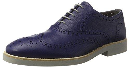 Pollini 12923, Mocassins (Loafers) Homme Blau (BLU Notte)
