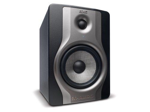 M-Audio BX5 Carbon Aktiver Bi-Amping-Studiomonitore und PC-sprecher (70-Watt, 5 Zoll, 2-Wege)