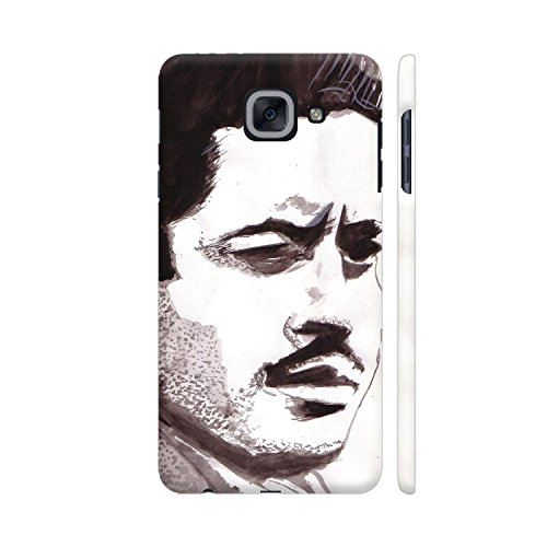 Colorpur Samsung On Max Cover - Guru Dutt 2 Printed Back Case  available at amazon for Rs.599