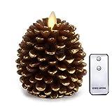 NONNO & ZGF LED Tannenzapfen Kerzen: 3,5