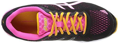 Asics Gel-Ds Trainer 19, Chaussures de trail femme Noir (9001-Black/White/Neon Pink)