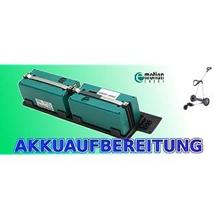 Akkuactiv - Akkuaufbereitung 24V4500 mAh (statt 3800 mAh) Ni-MH Golfcaddy Emotion (orig. Akku muss eingeschickt werden ! !)