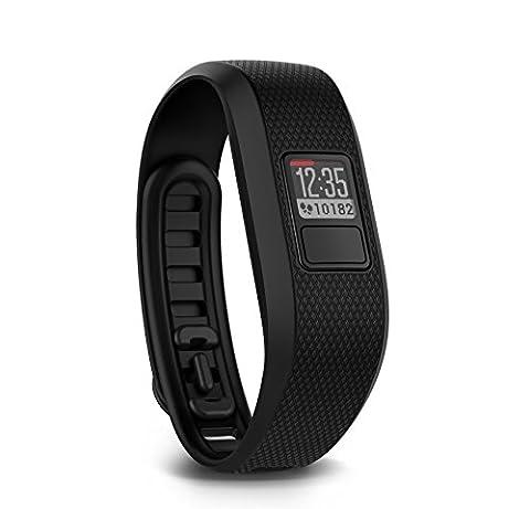 Garmin vívofit 3 Fitness-Tracker - 1 Jahr Batterielaufzeit, Tagesziele,Schwarz