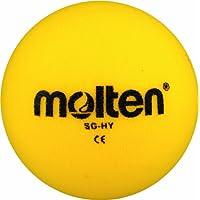 MOLTEN SG-HY - Pelota blanda de balonmano (160 mm), color amarillo
