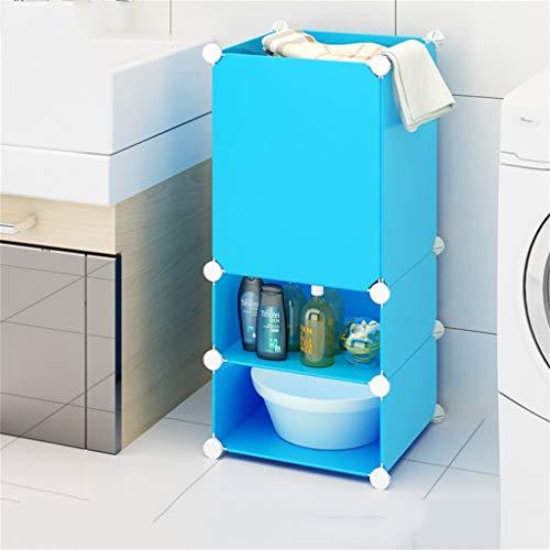GYY Badezimmer badezimmerboden Regal bodenstehend waschbecken Stand wc badezimmergestell awash die Bank (Color : 39 * 59.0CM) (Wc-bank)