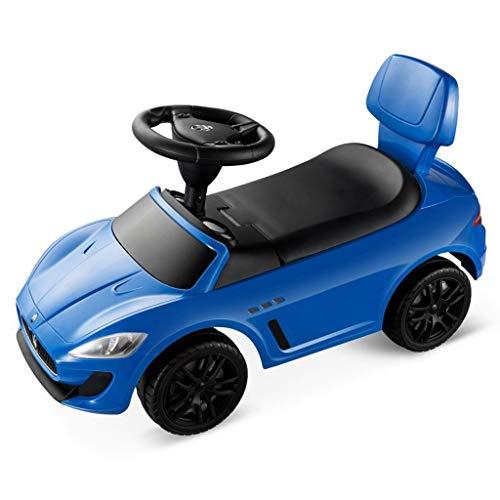 Veicoli a spinta e ruote Automobile di Torsione dei Bambini 1-3-5 Anni con Musica Scooter Camminatore per Bambini Yo-Yo Walker Picnic All'aperto Auto Giocattolo Mini Auto per Bambini
