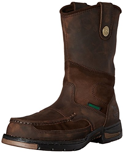 Georgia Boot Men's Georgia Athens Steel Toe Wellington Work Boot Work Shoe Steel Toe Wellington Boot