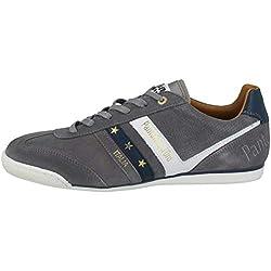 Pantofola d'Oro Herren VASTO Suede Uomo Low Sneaker Grau (Grey .10c), 41 EU