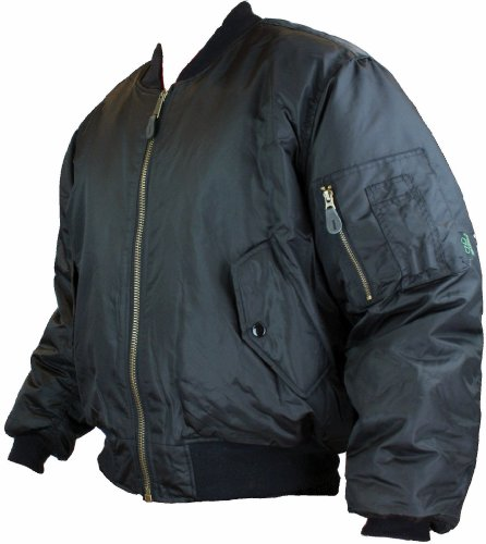 MENS MA1 MILITARY ARMY PILOT SECURITY DOORMAN BOMBER MENS WORKWEAR JACKET BIKER BLACK SIZES S- 3XL