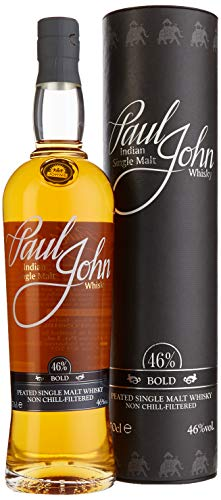 Paul John Bold Indian Single Malt Whisky in Geschenkverpackung (1 x 0.7 l)