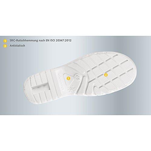 Abeba 9630-38 123 Chaussures sabot autoclavable Taille 38 Orange