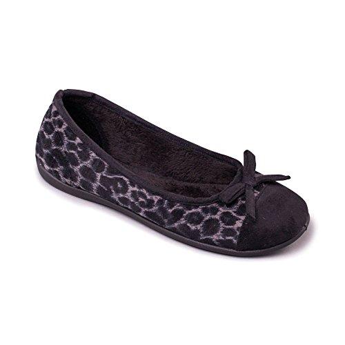 Padders donne calza tessili 'Wild'   Larghezza E   15 millimetri tallone   calzascarpe libero Nero