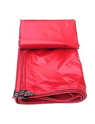 KCoob Große Plane Blatt Regendichtes Tuch Zelt Sun Shade Abdeckungen Plane Wasserdichte Heavy Duty Gartenmöbel Farbe Rot von Ncika - Gartenmöbel von Du und Dein Garten