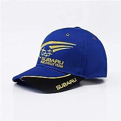 AAMOUSE Gorra de Beisbol Hombresal Aire LibreGorra de algodón Hombre Deportes Motos Carreras Gorras de béisbol Coche Sombreros Sol Azul
