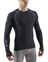 Sub Cold Herren Sports Freeze Men'Semi Compression Long Sleeve Base Layer Thermo schwarz schwarz