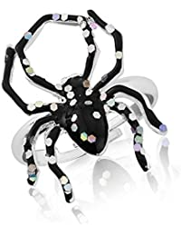 Halloween/ Fancy Dress Sparkly and Scary Spider Ring - gift bag.
