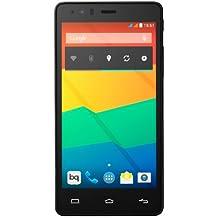 """BQ Aquaris E5 HD - Smartphone libre Android (pantalla 5"""", cámara 13 Mp, 16 GB, Quad-Core 1.3 GHz, 1 GB RAM) negro"""